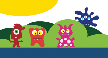 Store-A-Tooth little monsters